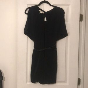 BCBGeneration Black Cut-Out Dress Size 2